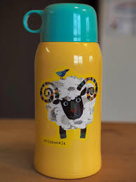 ステンレスで保温・保冷もバッチリ♪ステンレス製の子供用水筒!のサムネイル画像