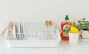 キッチンの水切りかごも可愛くておしゃれな物を使っちゃおう♪のサムネイル画像