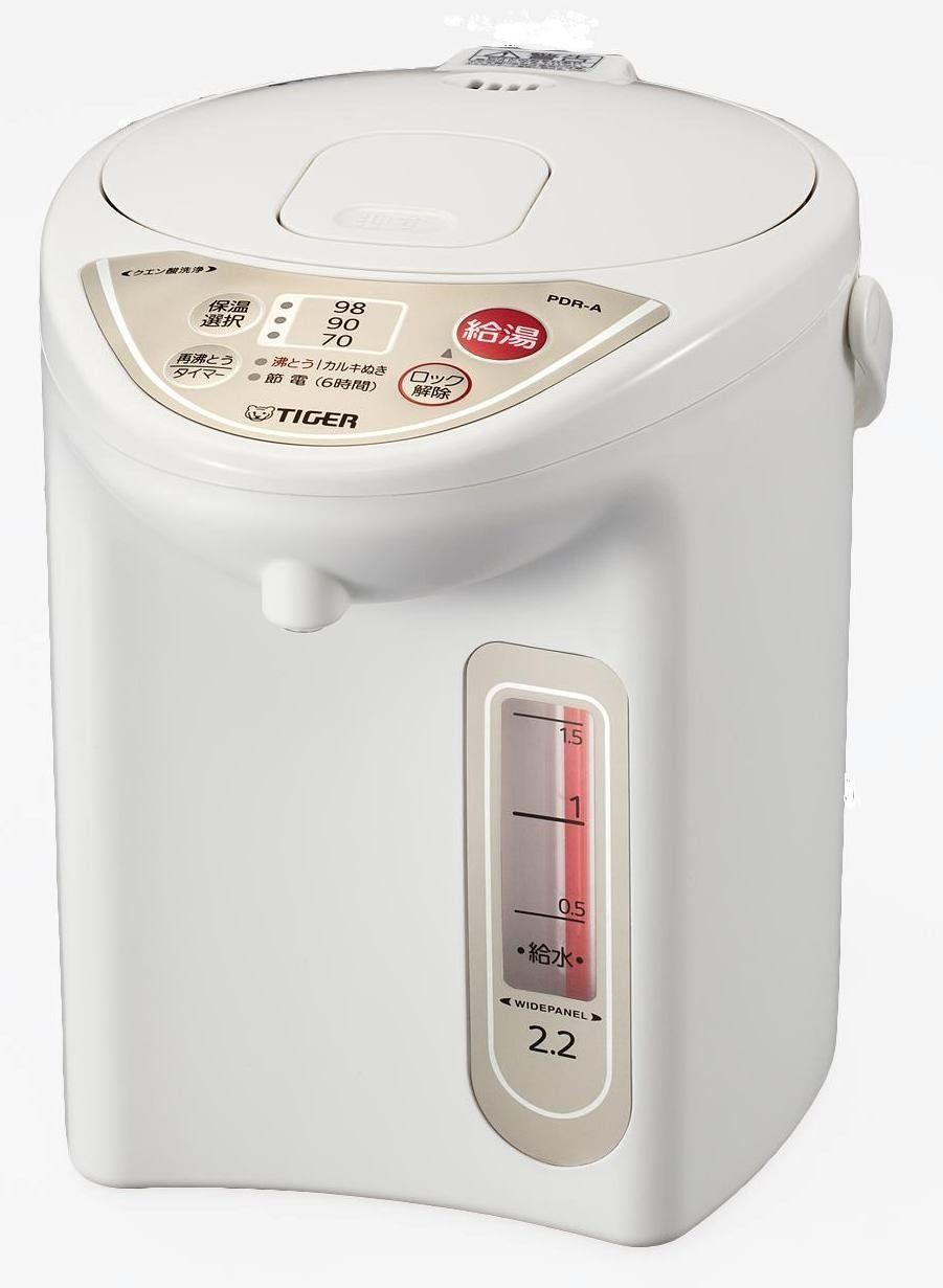 保温機能で、いつでも好みの温度のお湯が!電気ポットで快適生活♪のサムネイル画像