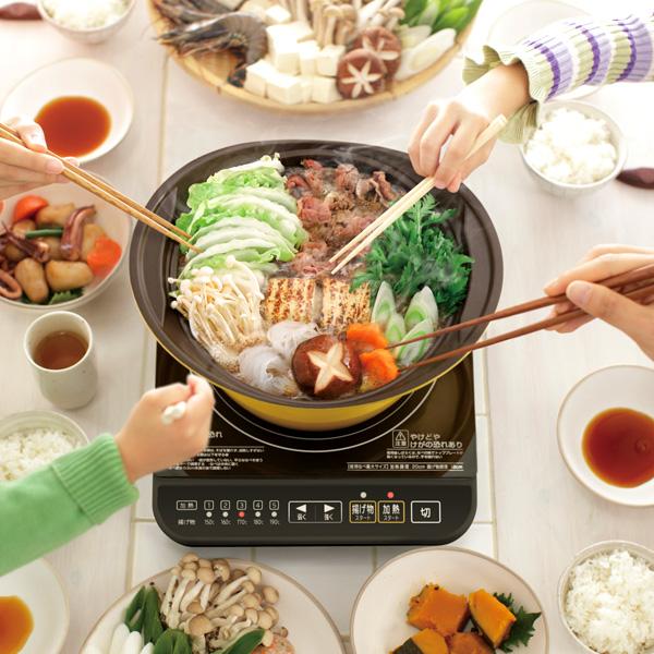 お手入れは簡単?使える鍋、使えない鍋は?電磁調理器の使い方のサムネイル画像