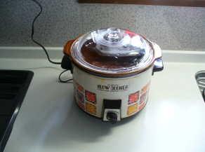 寝てる間にやわらか~い煮込み料理☆スロークッカーの使い方まとめのサムネイル画像